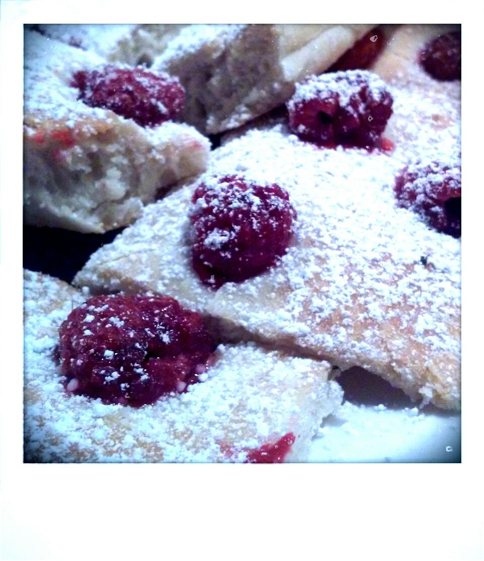 Raspberry Focaccia