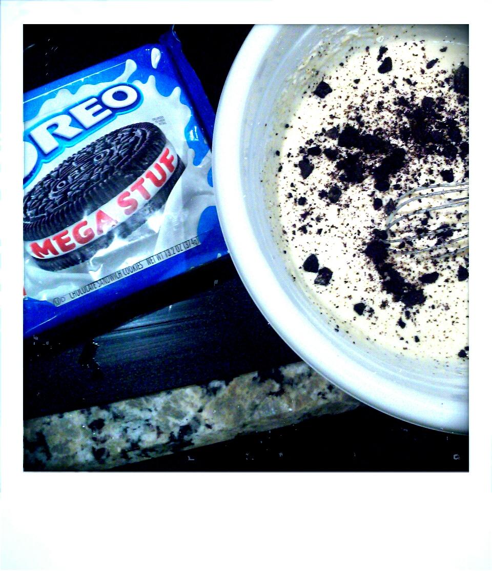 Oreo Buttermilk Pancakes