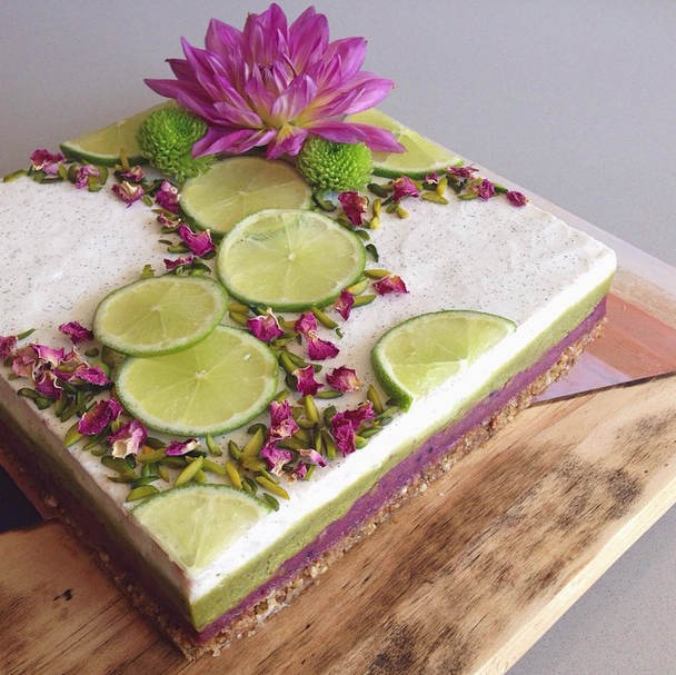 Vegan Lime And Coconut Cake